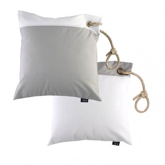 Wasser-/winddichte Kissenbezüge light grey&white MARINE BUSINESS Cabin