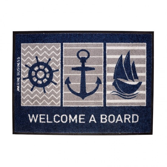 Rutschfeste maritime Fußmatte Boat Marine Business MARINE BUSINESS Accessoiries