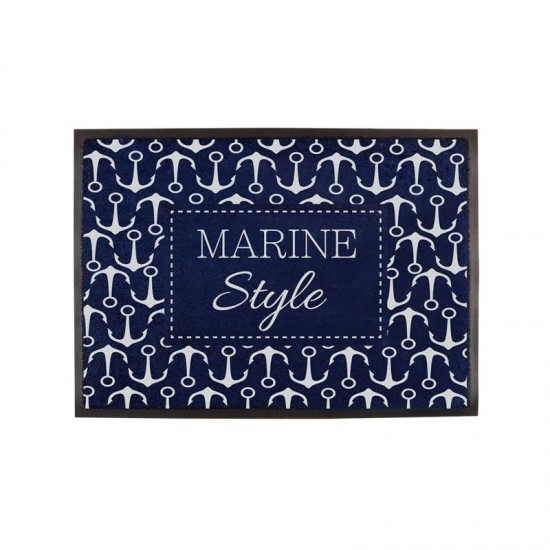 Rutschfeste maritime Fußmatte Marine Style Welcome Marine Business MARINE BUSINESS Accessoiries
