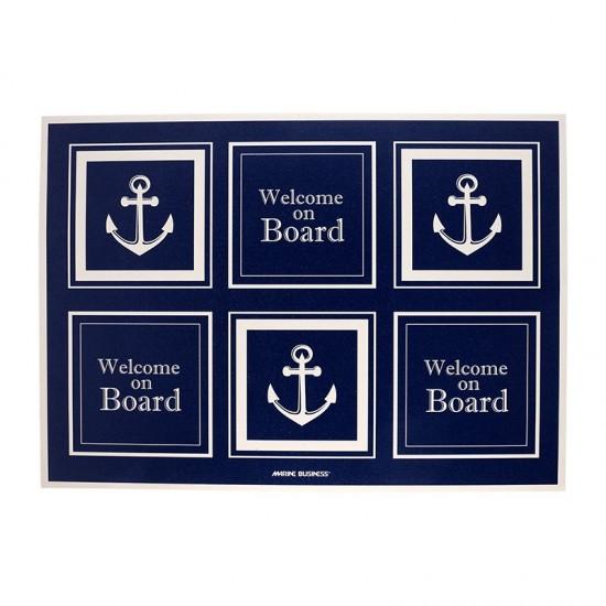 Maritime Fußmatte Vinyl Mat klein Marine Business MARINE BUSINESS Accessoiries