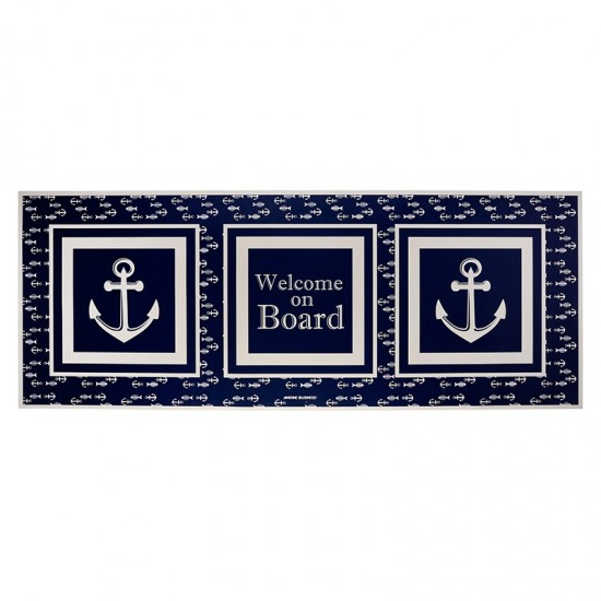 Maritime Fußmatte Vinyl Mat groß Marine Business MARINE BUSINESS Accessoiries