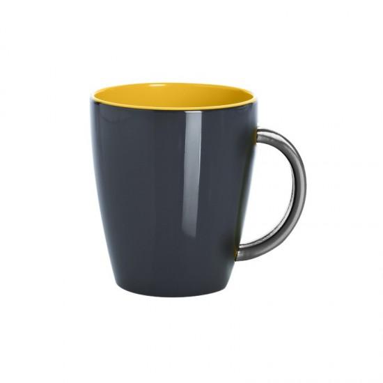 2er Henkelbecherset - GIMEX Grey Line yellow GIMEX Bootsgeschirr