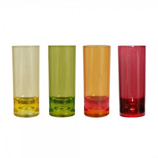 Schnapsglas mehrfarbig GIMEX Rainbow GIMEX Party