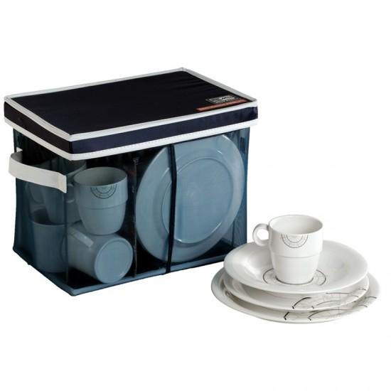24-teiliges Geschirrset + Tragebehälter Polaris Marine Business MARINE BUSINESS Bootsgeschirr