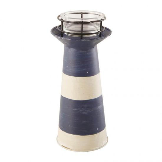 BATELA Maritimer Kerzenständer Leuchtturm  Accessoiries