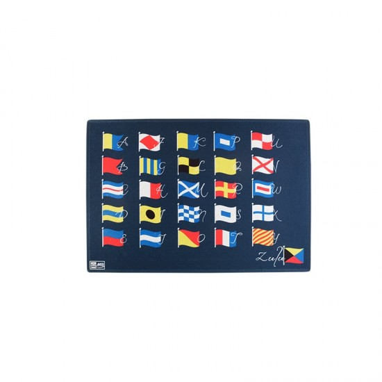 Rutschfeste Fußmatte ABC Flags Welcome Marine Business MARINE BUSINESS Accessoiries