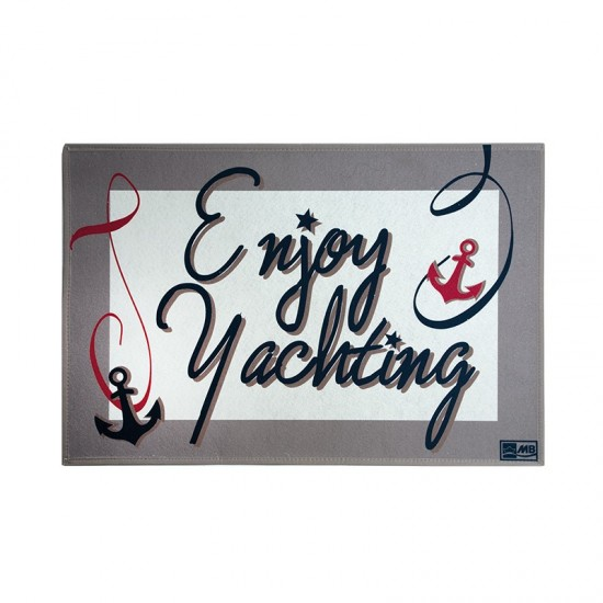 Rutschfeste Fußmatte Enjoy Yachting Welcome Marine Business MARINE BUSINESS Accessoiries