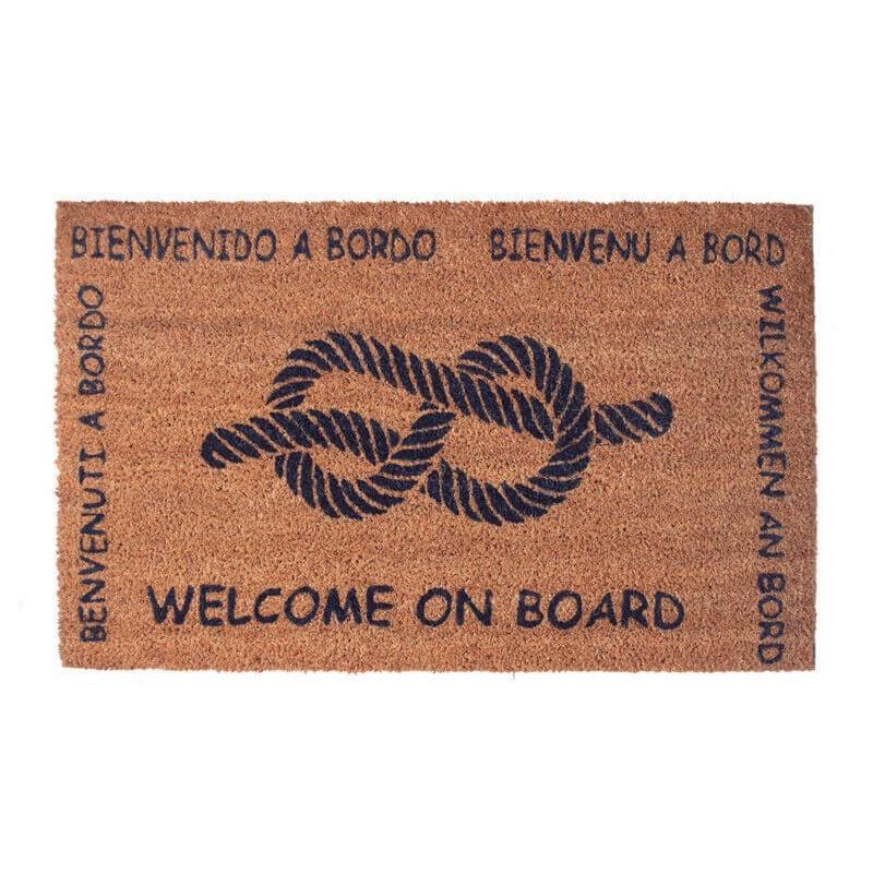 BATELA Rutschfeste maritime Fußmatte Knoten BATELA Accessoiries