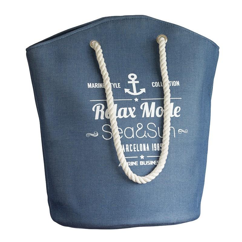 Beach Bag Strandtasche Blue Bora Bora Marine Business MARINE BUSINESS Maritime Mode