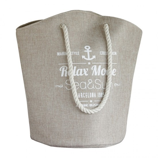 Beach Bag Strandtasche Beige Bora Bora Marine Business MARINE BUSINESS Maritime Mode
