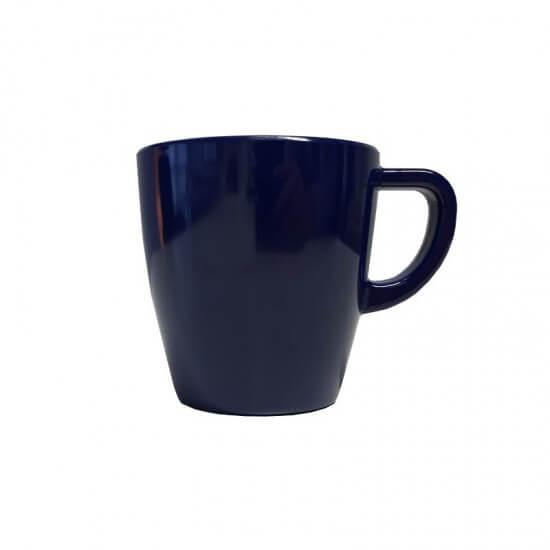 Q SQUARED Kaffeebecher Ruffle Hues saphirblau Q SQUARED NYC Bootsgeschirr