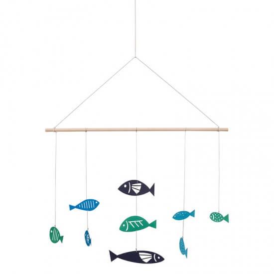 BATELA maritimes Mobile Fische  Accessoiries