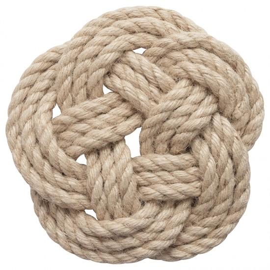 BATELA maritimer Topfuntersetzer Knoten  Maritime Dekoration