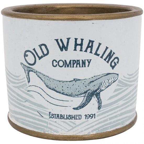 BATELA maritimer Pflanztopf Old Whaling co  Maritime Dekoration