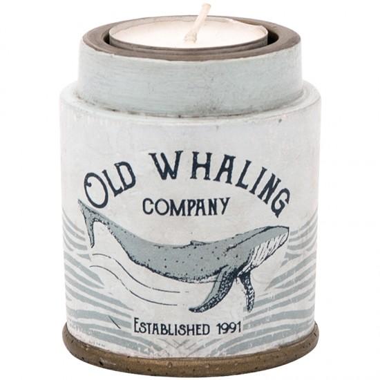 BATELA maritimer Kerzenhalter Old Whaling co  Maritime Dekoration