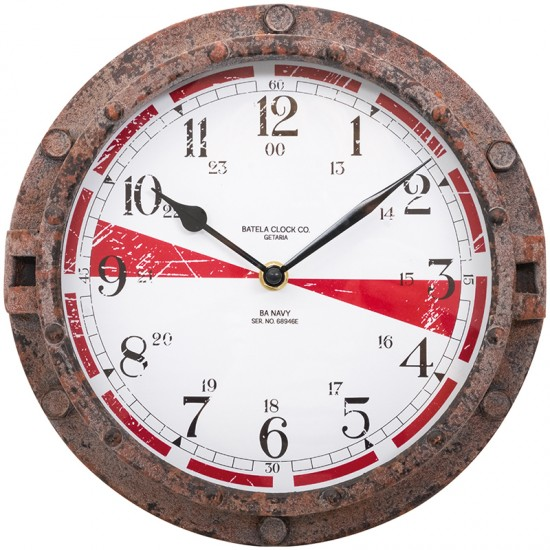 BATELA maritime Uhr  Maritime Dekoration