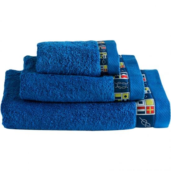 Handtuchset Colors blue Marine Business  Maritime Handtuchsets