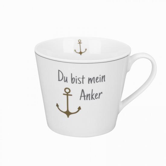 Krasilnikoff Maritimer Kaffeebecher Mein Anker  KRASILNIKOFF