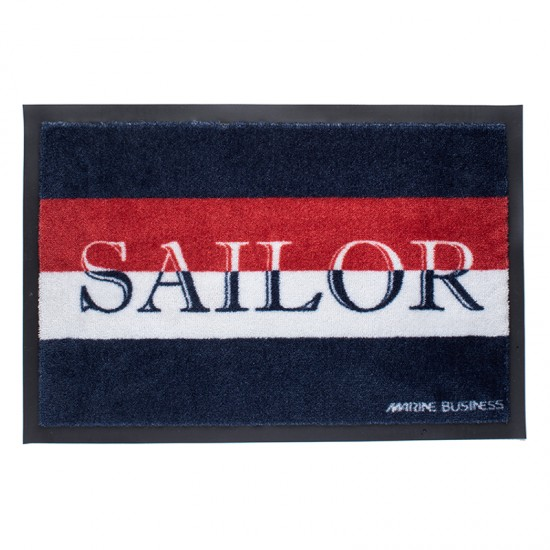 Rutschfeste maritime Fußmatte Sailor Marine Business MARINE BUSINESS Accessoiries