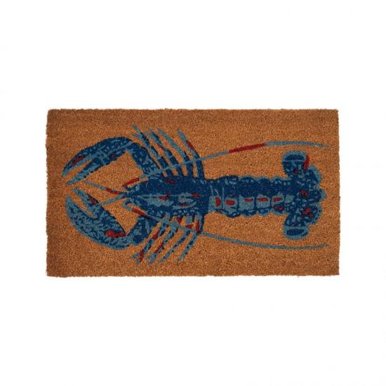 BATELA Rutschfeste maritime Fußmatte Lobster BATELA Accessoiries