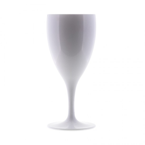 Q Squared Weinglas weiß  Q SQUARED Melamingeschirr