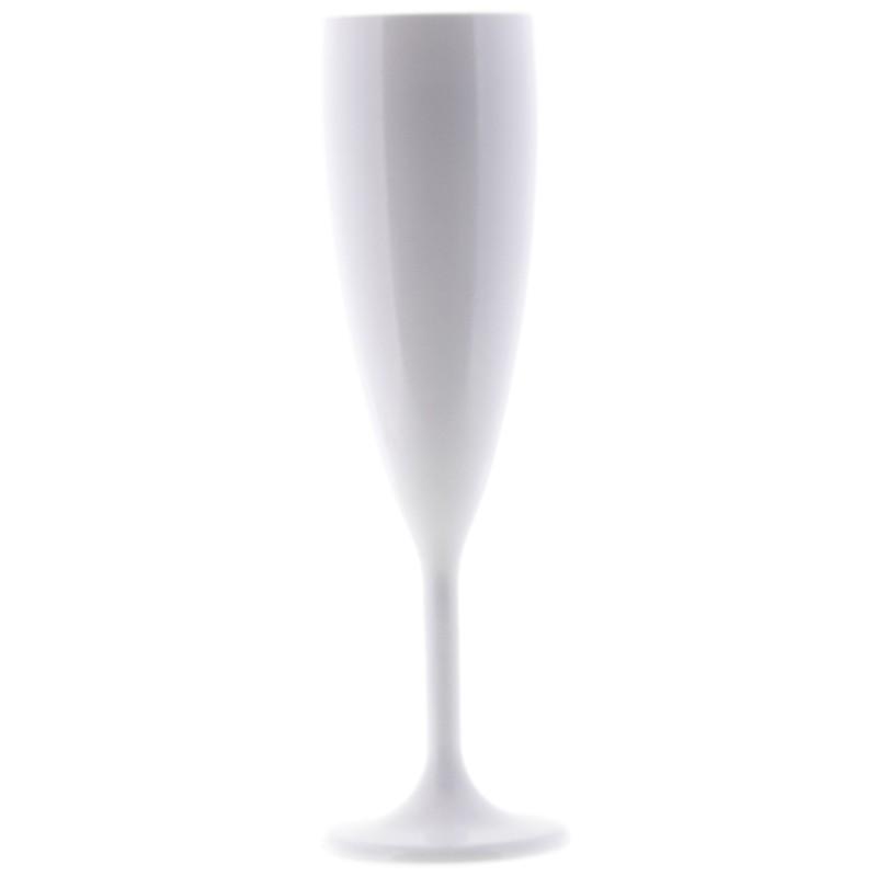 Q Squared Champagnerglas weiß  Startseite