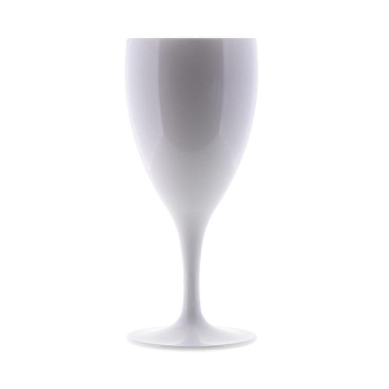 Q Squared Sektglas weiß  Startseite