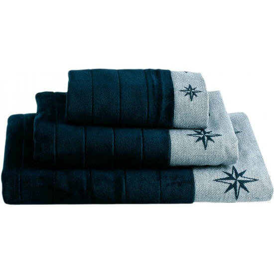 "Handtuchset blue navy ""Free Style"" Marine Business"
