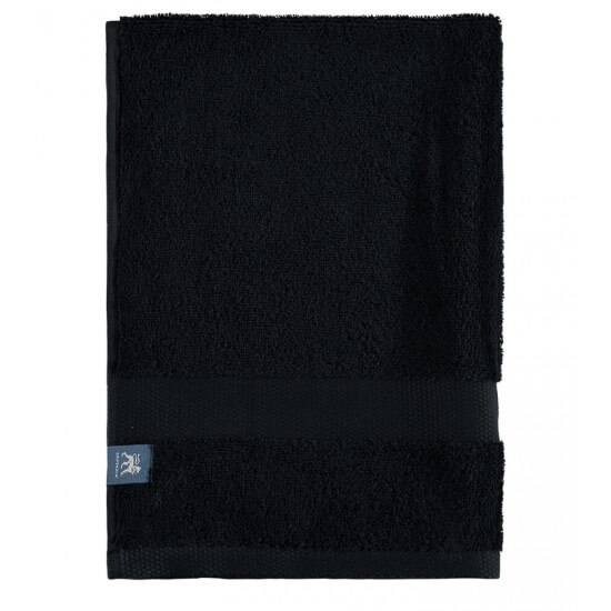 Handtuch GRIPSHOLM black GRIPSHOLM Bathroom