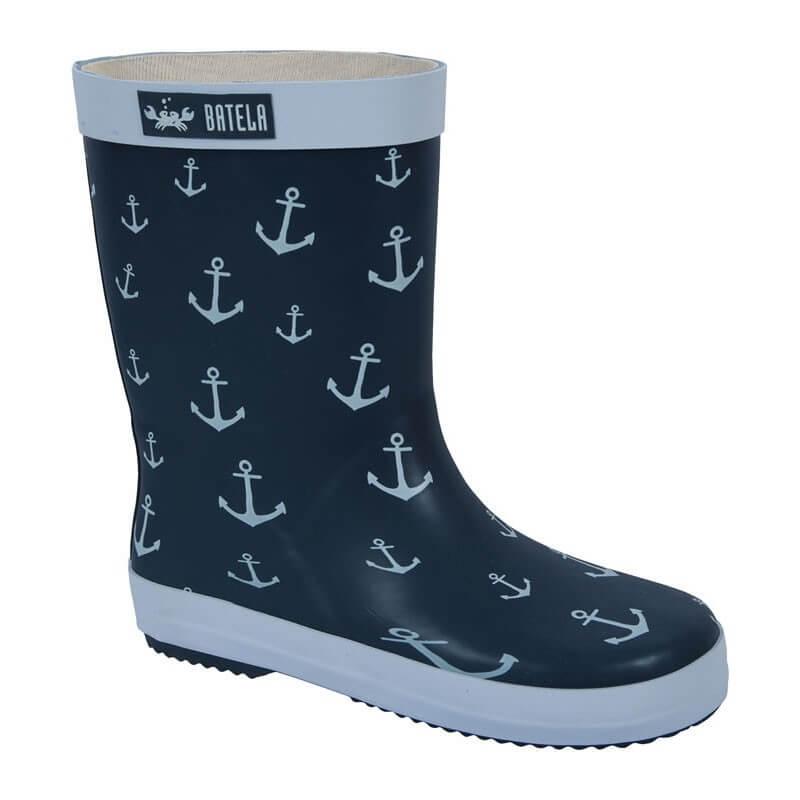 BATELA Gummistiefel Anker navy BATELA Maritime Mode