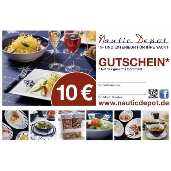 Gutschein 10,-€ Nautic Depot Maritime Geschenke