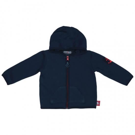 BATELA maritime Sweatshirt Jacke navy BATELA Maritime Mode