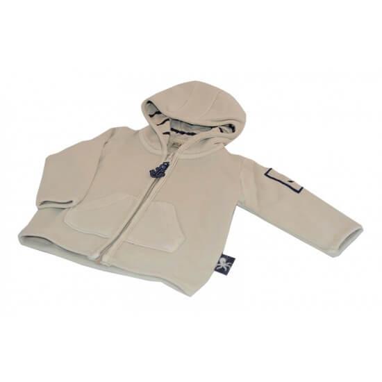 BATELA maritime Sweatshirt Jacke creme BATELA Maritime Mode