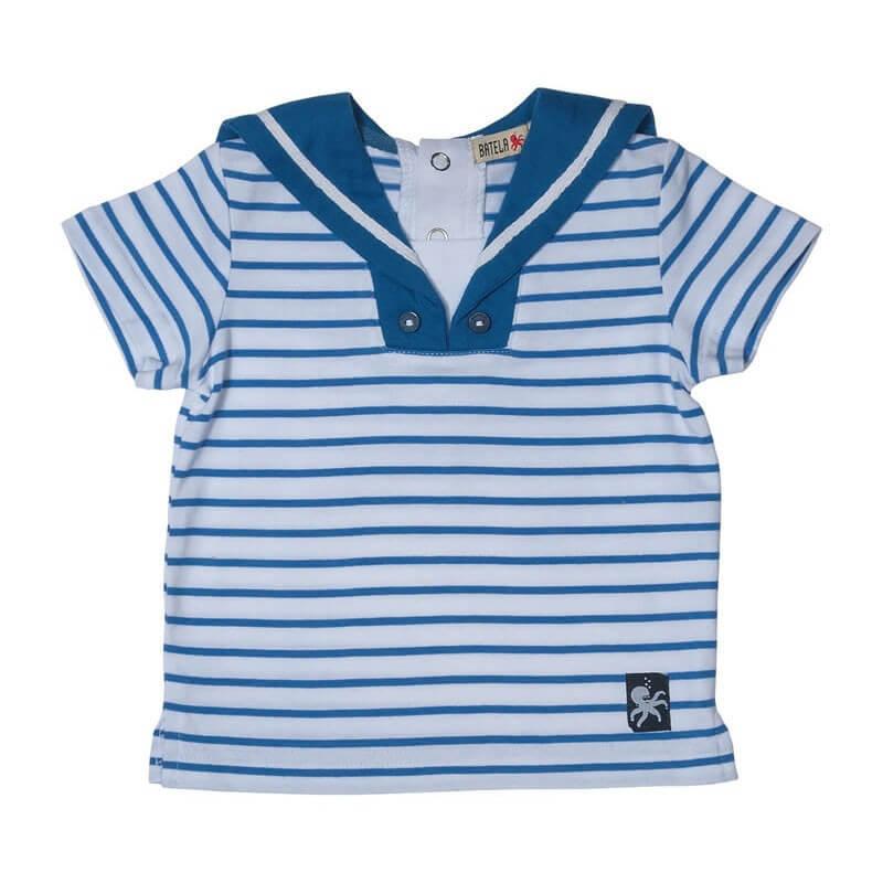 BATELA Matrosenkombi blau/weiß gestreift BATELA Maritime Mode