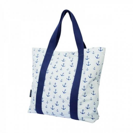 BATELA maritime Handtasche Anker weiß BATELA Maritime Mode