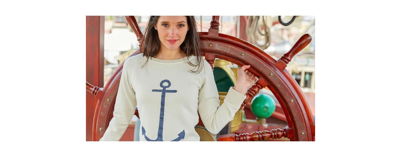 Maritime Mode Damen - Hosen, Shirts, Pullover – Mode maritim BATELA