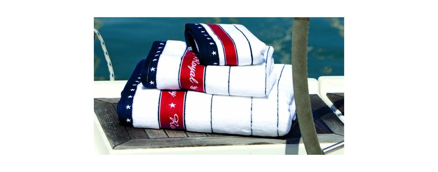 Maritime Handtuchsets - mehrteilig maritim Handtuchset Marine Business