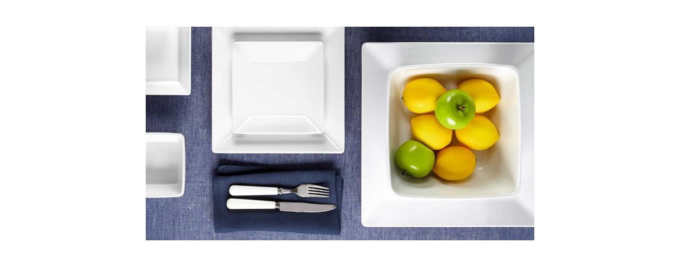 Diamond Square MELAMINGESCHIRR von Q SQUARED - MELAMIN für die Gastronomie