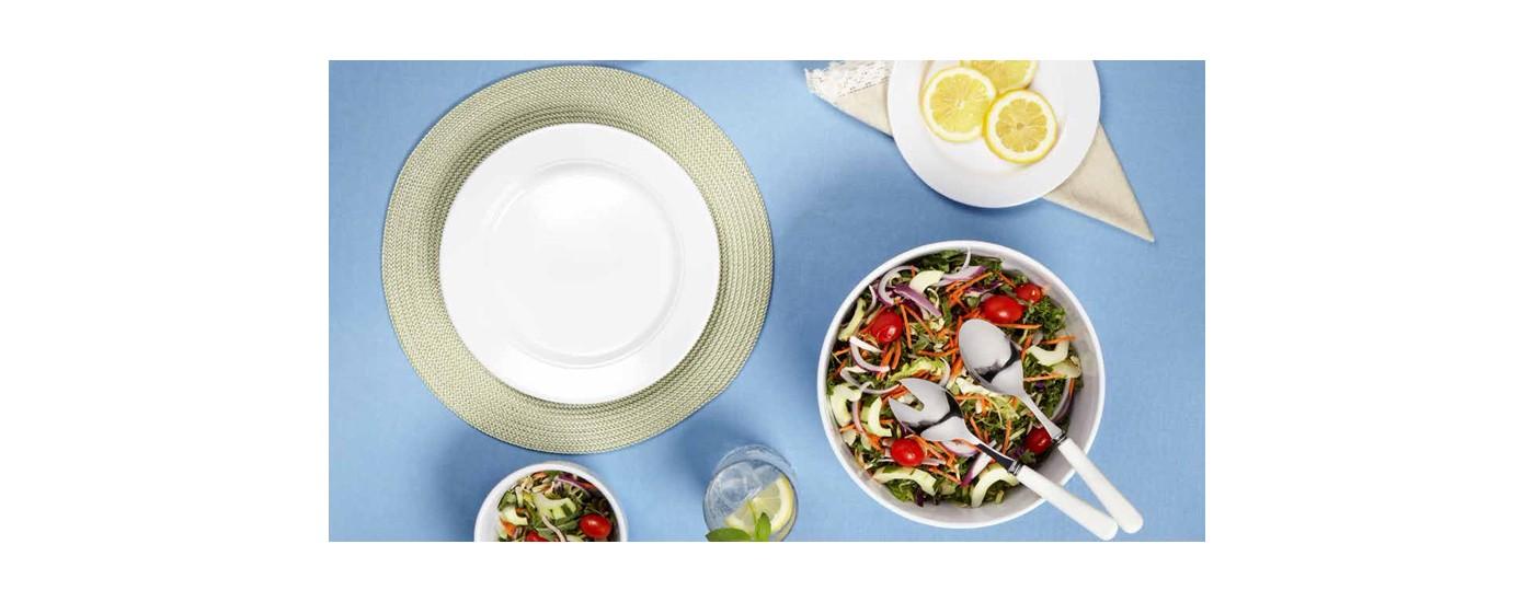 Diamond Round MELAMINGESCHIRR von Q SQUARED - MELAMIN für die Gastronomie